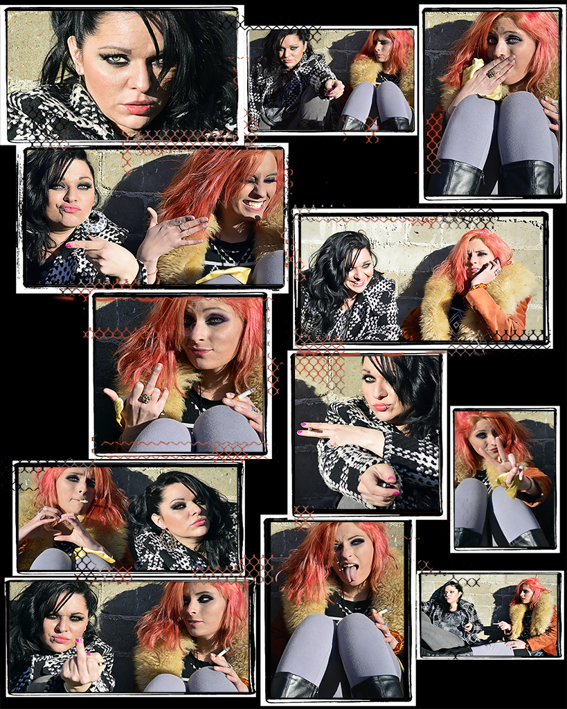 urban chic Double trouble collage jacklyn miller aka jacklyn747